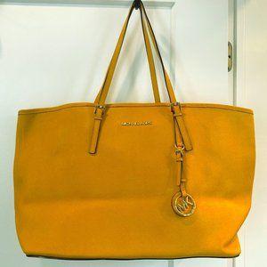 Michael Kors yellow bag